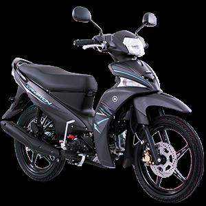 Moto Crypton fi azul con negra